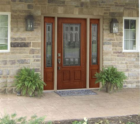 Exterior Front Doors With Sidelights Exterior Doors With Sidelights Design Home Ideas Collection