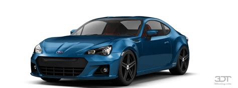 3dtuning of subaru brz 2 door coupe 2013 3dtuning