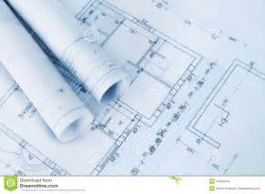blueprint planner construction plan blueprints royalty free stock image