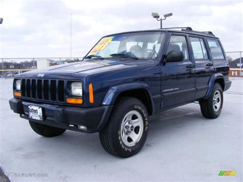 2000 patriot blue pearl jeep sport 4x4 26399378 gtcarlot car color galleries