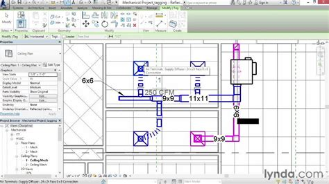 revit tags tutorial tagging duct from the course revit mep 2014 essential training