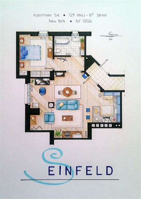 seinfeld apartment floor plan 1000 images about screen set and objects on