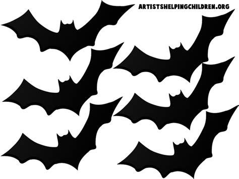 printable paper bats teen halloween bedroom and free bat template halloween