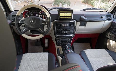 Mercedes 6x6 Interior by Car And Driver