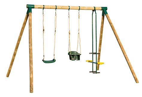 balancoire pour portique balancoire portique en bois balancoire vis a vis