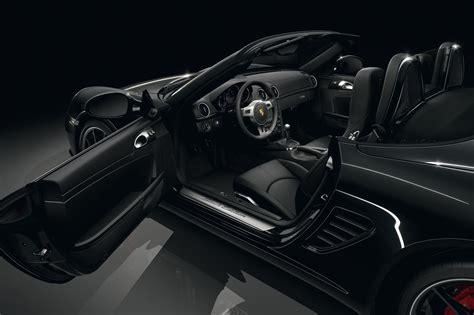 black porsche boxster the motoring world porsche announces it s latest black