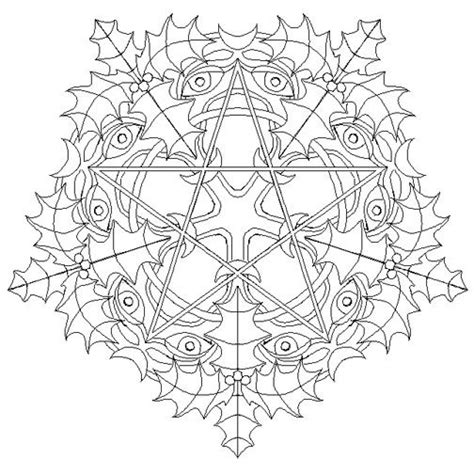 Winter Solstice Coloring Pages Yule Winter Solstice The Pagan Page 2