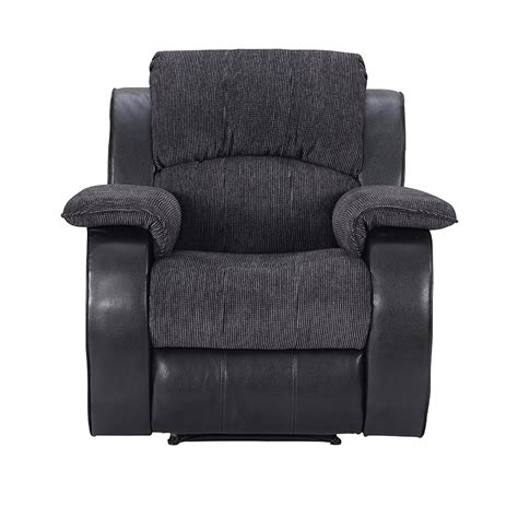 reclining bench seat charleston one seat recliner chair