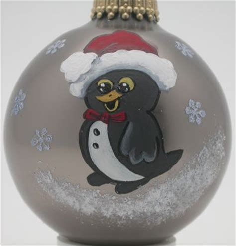 hand painted ornament homemade christmas pinterest