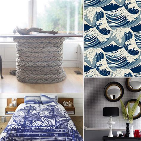Nautical Design Ideas | nautical decorating ideas popsugar home