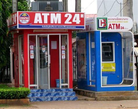 orario delle banche come usare i bancomat e gli atm in laos tuttolaos