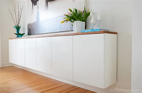 12 Inch Deep Sideboard Floating Sideboard Diy Remodelaholic