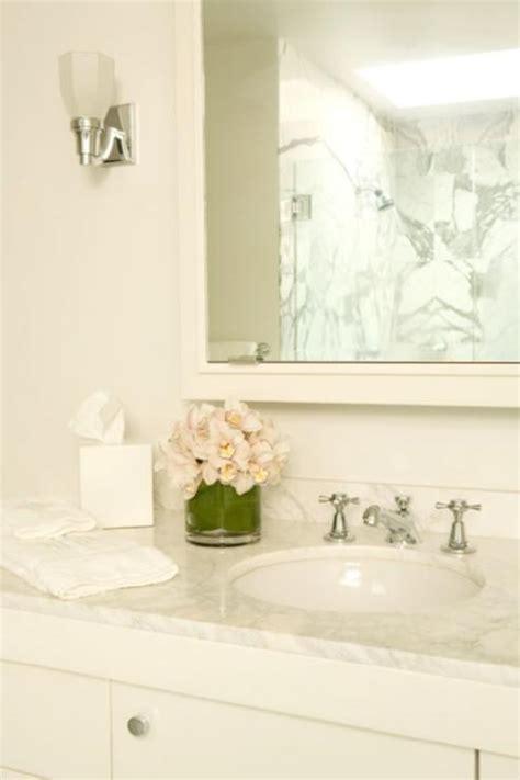 single bathroom vanity white carrara marble