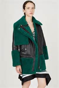Newyork Rock Parka j dons a green fringed shearling leather jacket in new york daily mail