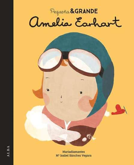 pdf libro de texto pequena grande amelia earhart para leer ahora alba editorial