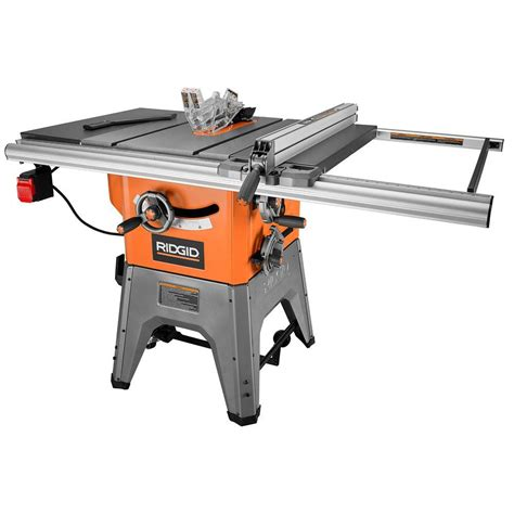 professional table ridgid 13 10 in professional cast iron table saw