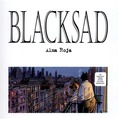 blacksad 3 alma roja 8498144221 blacksad vol 3 alma roja noir
