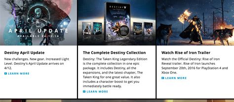 destiny rise of iron september release date outed playstation 4 playstation 3 news at