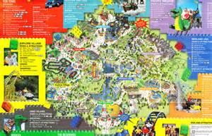 map of legoland california legoland california 2006 park map