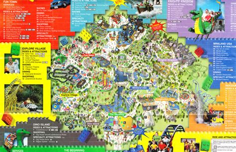 amusement parks california map image gallery legoland carlsbad map