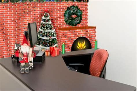 christmas themes for your desk ideas for christmas cubicle decorations christmas