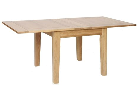 oxford contemporary oak 3 x3 flip top extending dining