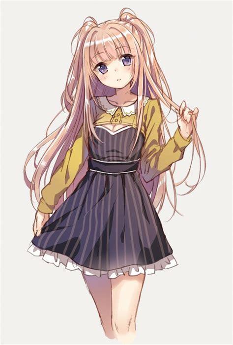 blonde anime schoolgirl 1435 best anime girls images on pinterest anime girls