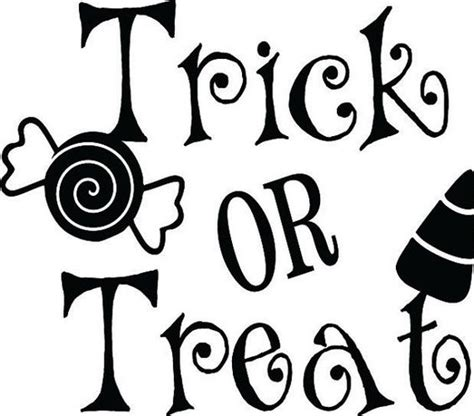 Trick Or Treat Graphic 8 trick or treat word clipart www imgkid the image