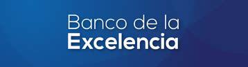 banco de excelencia banco de la excelencia