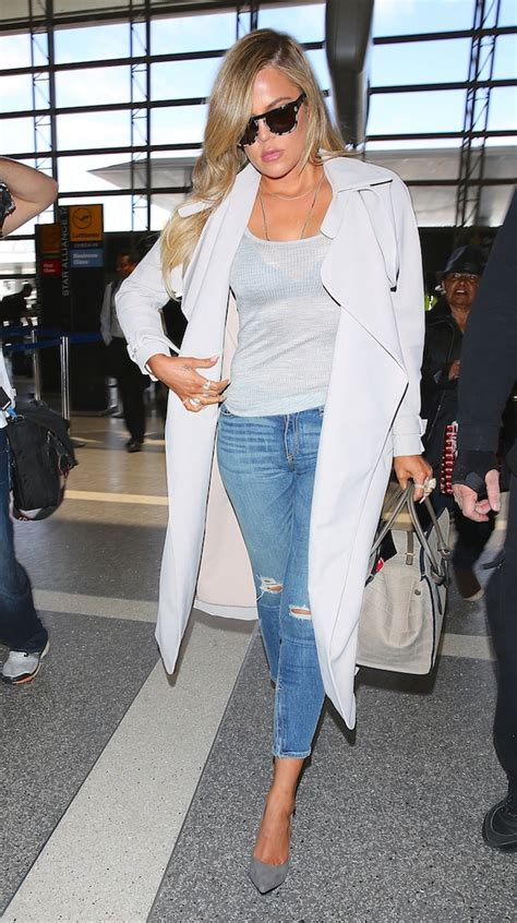 airport tarmac lax kim kardashian game dlisted khloe kardashian departs from los angeles