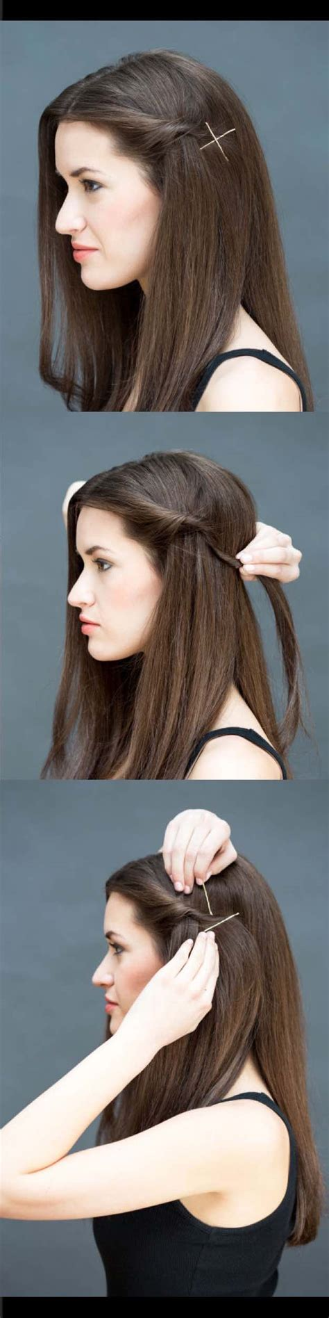 easy and quick hairstyles for long straight hair easy straight hairstyles fade haircut