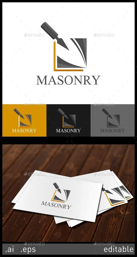 masonry logo template objects logo templates