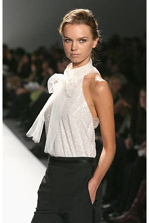 Fashion Week Fall 2007 Jayson Brunsdon Elegance And Cinematic Drama Second City Style Fashion by The Fashionable Matilda S Diary Designers To For