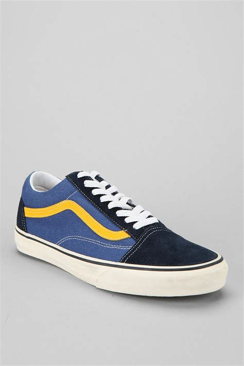 outfitters mens sneakers outfitters vans skool mens sneaker in blue for