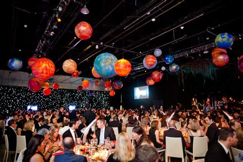At LG Innovators' Ball, Guests Dine Like Astronauts in