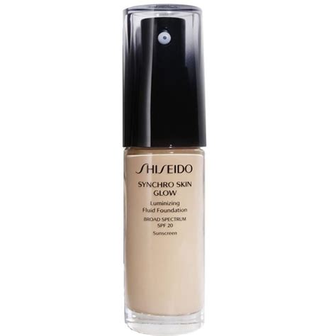 Foundation Shiseido Synchro Shiseido Synchro Skin Glow Luminizing Fluid Foundation