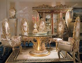 European Dining Room Sets Italian Furniture Phoebe Round Table Italian Dining Room