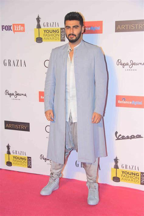 arjun kapur here style photos grazia young fashion awards 2015 priyanka chopra arjun