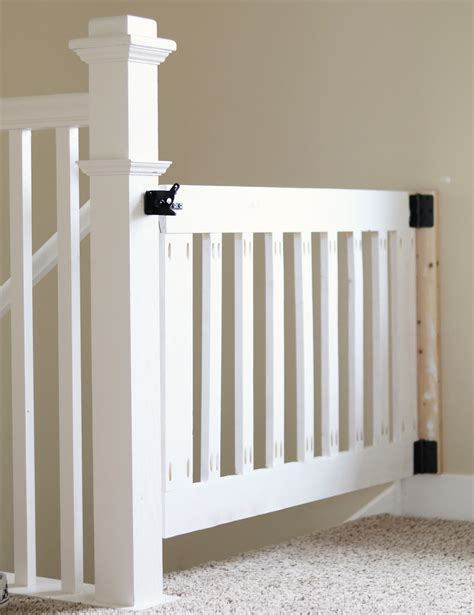 diy gate diy baby gate for stairs do it your self