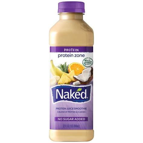 protein juice drink juice protein zone juice smoothie 32 oz plastic