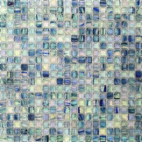 blue mosaic tile splashback tile roman selection iced blue lantern glass