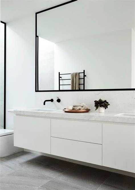 White Modern Bathroom Best 25 White Bathrooms Ideas On Pinterest Bathrooms Bathroom Tile Cleaner And Family Bathroom