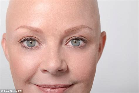 gail porter reveals her joy after undergoing microblading