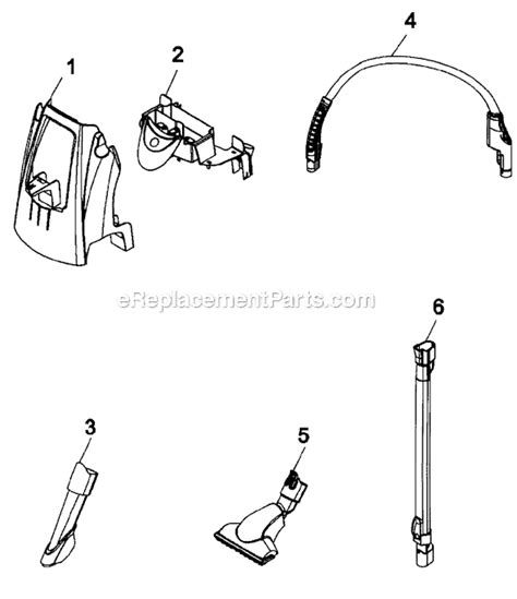 hoover floormate parts diagram hoover h3060 parts list and diagram ereplacementparts