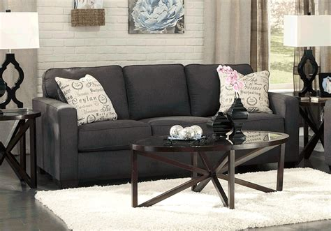 alenya charcoal sofa sleeper charcoal sofa alenya charcoal sleeper sofa