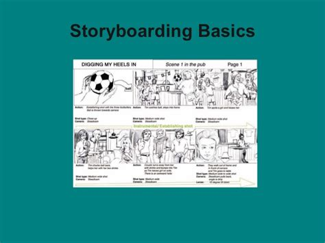 membuat storyboard aplikasi multimedia ppt storyboard basics images