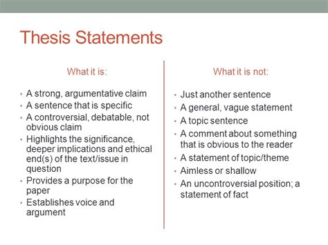 a thesis statement exle critical analysis thesis statement 28 images critical