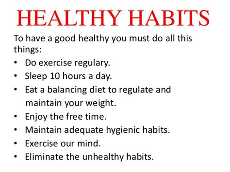 Things To Do For Healthy by Health