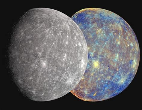 color of mercury planet mercury in the solar system pics about space