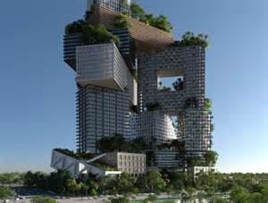 Peruri 88 mvrdv unveils sprawling green roofed city in the sky for